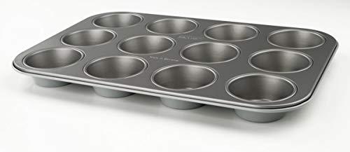 Zenker Muffinform 12-delige bakplaat (Ø 7 cm), voor sappige muffins & cupcakes, muffinplaat, vierkant & anti-aanbaklaag…