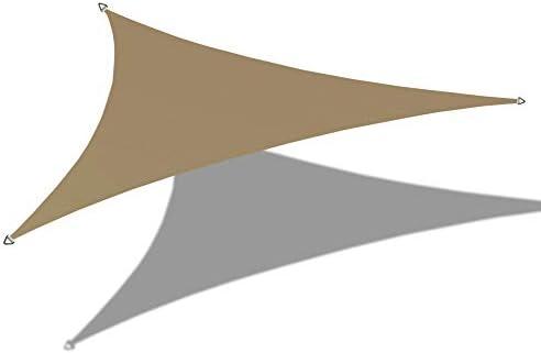 Alion Home 12' x 12'x 12' Triangle Waterproof Woven Sun Shade Sail