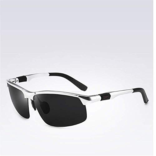 Polarizadas Silver Hombres Ash ZYZHjy Ash Black Gafas Black De Sol Silver II1OpRq