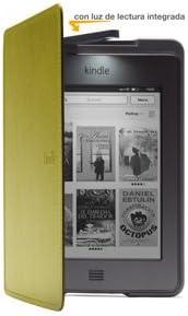 Image ofFunda de cuero con luz Amazon para Kindle Touch, color verde (sólo sirve para el Kindle Touch)