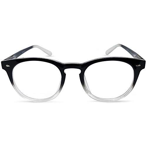 c06a3fb261bc Brooklyn Bifocal Reading Glasses (Black   Clear