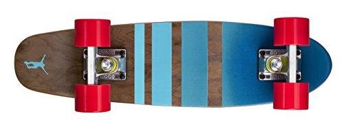Ridge Skateboards Mini Maple Dark Dye Retro Cruiser Skateboard: Design NR3