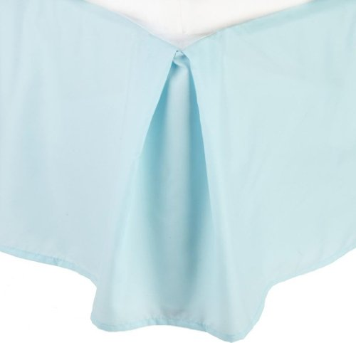 dust ruffle light blue - 6