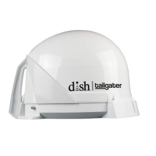 DISH VQ4400 Tailgater Portable/Roof Mountable Satellite TV Antenna (for use with DISH)