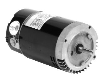Emerson EB809 C Flange Pool & Spa Motor 2 HP (Emerson 1081 Pool Motor)