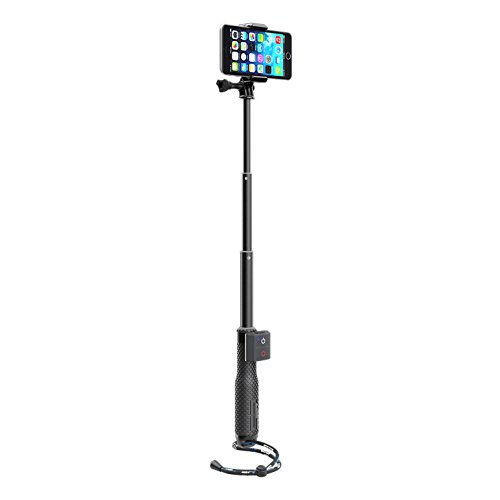 SP-Gadgets Remote Selfie Bundle, Includes 19'' POV Pole, Bluetooth Remote, Phone Mount and Adjustable Wriststrap by SP Gadgets