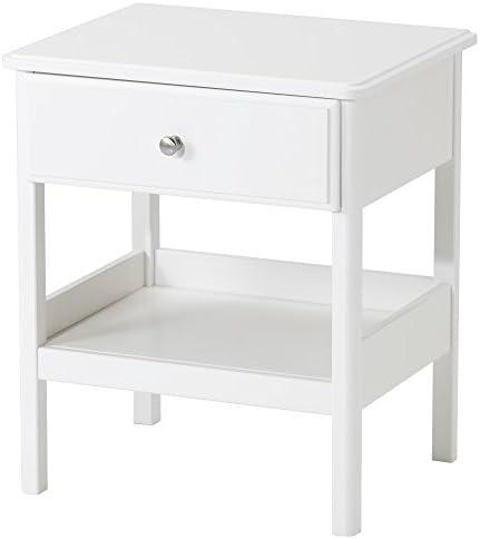【IKEA/イケア】TYSSEDAL ベッドサイドテーブル, ホワイト