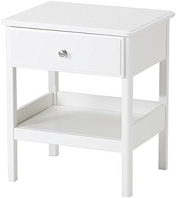 Zigzag Trading Ltd IKEA Tyssedal - Mesa de Noche Blanca: Amazon.es ...