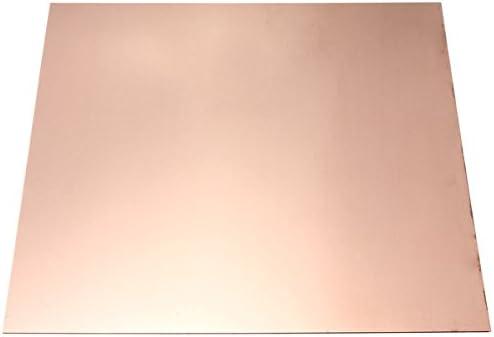 KUNSE Placa De Chapa De Cobre De 0.5 Mm x 50 Mm x 50 Mm