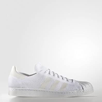 a17552bca72 adidas - Superstar 80s Primeknit Shoes - White - 4  Amazon.co.uk  Shoes    Bags