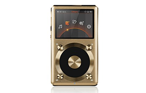 Fiio X3 24Bit/192K Lossless Mastering Quality Music Player w/ Sandisk 64GB External MicroSD Memory & Coaxial Connection Kit