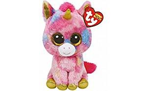 - Ty Beanie Boos Fantasia - Multicolor Unicorn reg