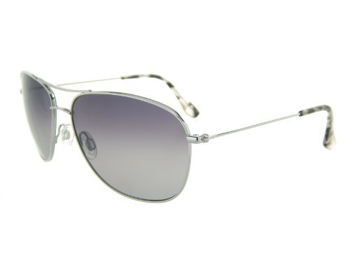 New Maui Jim Cliff House GS247-17 Silver/Neutral Grey Polarized - Sunglasses House Of