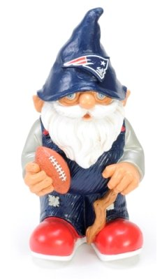 New England Patriots 8 Inch Mini Garden Gnome