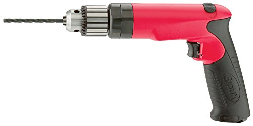 (Sioux Tools SDR10P25R3 - Air Drill or Driver - Reversible, Pistol Grip Handle, Chuck Size 10 mm, 3/8 in, Horsepower 1.0 hp, 2500 rpm Maximum)
