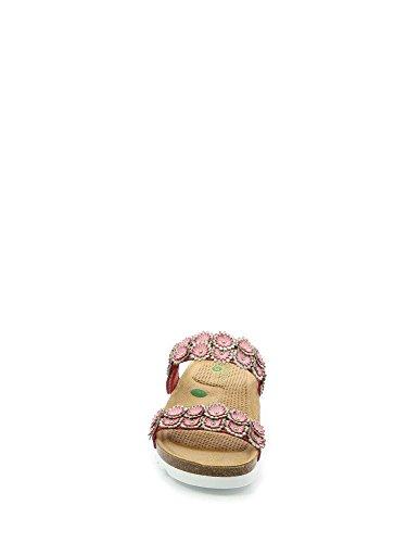 Sandalo Ciabatta Grunland Rosa Camoscio multi Cb1622 Sevi tqv40P