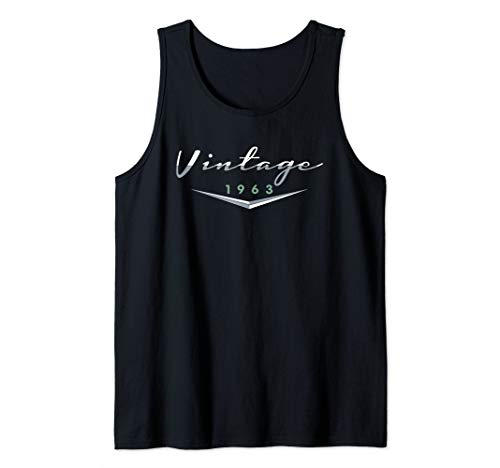 Vintage Classic Car 1963 | 56th Birthday Gift Idea Tank Top
