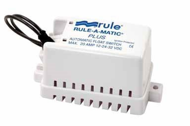 Rule Automated Float Switch Ignition 20 A, 32 V