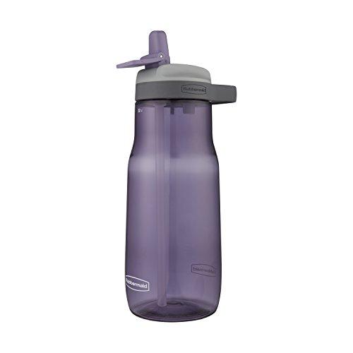 Rubbermaid Leak-Proof Sip Water Bottle, 32 oz., Dusty Lilac