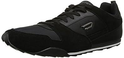 Amazon.com: Diesel Men's Shorty Fashion Sneaker,Black ...