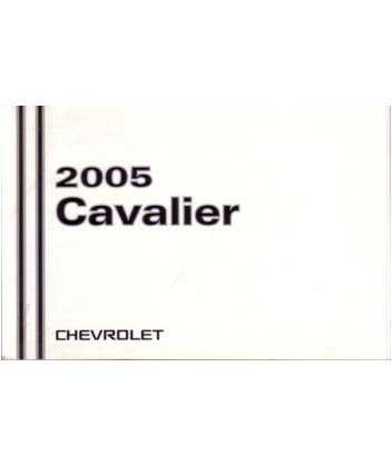 amazon com 2005 chevrolet cavalier owners manual user guide rh amazon com