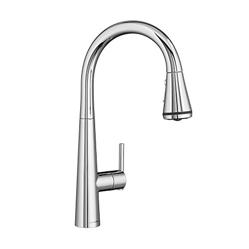 - American Standard 4932300.002 Edgewater Pull-Down Kitchen Faucet with SelectFlo, Polished Chrome