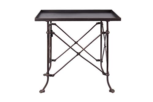 (Creative Co-op Bronze Metal Rectangle Table, 20