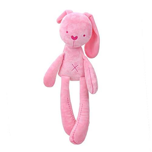 Coiny Bebe Baby Soft Plush Sleeping Mate Stuffed Plush Animals Toys G0306 Pink Bear