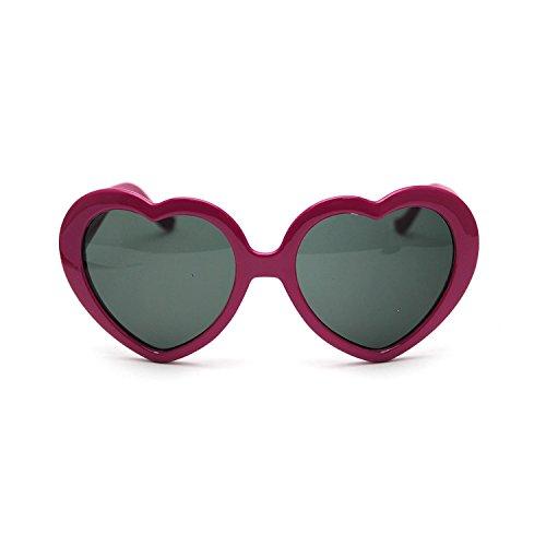 de l'amour en lunettes peche 2013 soleil cœur demandé très forme rétro de HuaYang 4vnaxq