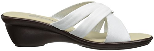 Slide White Sandal WoMen Onex Carolyn gSfE6Iqqxw