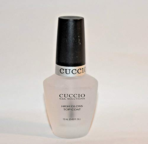Cuccio Color Top Nail Coat, High Gloss Top Coat.43 Ounce
