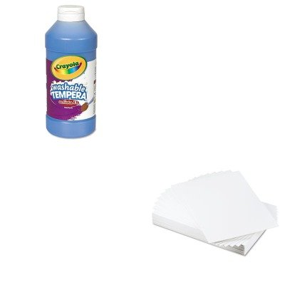 KITCYO543115042EPI900109 - Value Kit - Elmers CFC-Free Polystyrene Foam Board (EPI900109) and Crayola Artista II Washable Tempera Paint (CYO543115042) by Elmer's