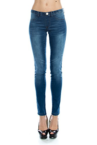 VIRGIN ONLY Women's Junior Size Fitted Skinny Jeans for sale  Delivered anywhere in USA