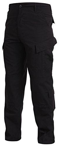 Mens Pants - Strategic Deployment Uniform Style, Black, S...