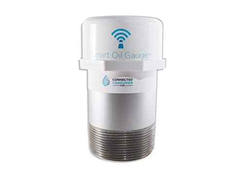 -Fi Heating Oil Tank Gauge - Check Your Oil Level From Your Phone, Compatible with Alexa (Oil Gauge)