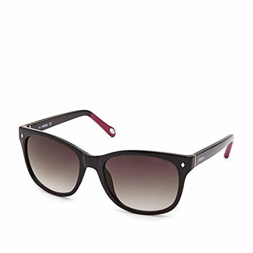Fossil Fos3006s 0d28 Neely Cat-Eye Sunglasses - Black and Pink
