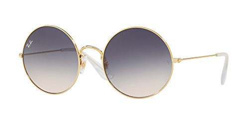 Ray-Ban Women's Ja-Jo Round Sunglasses, Gold, 50 - Ja Ban Ray Jo