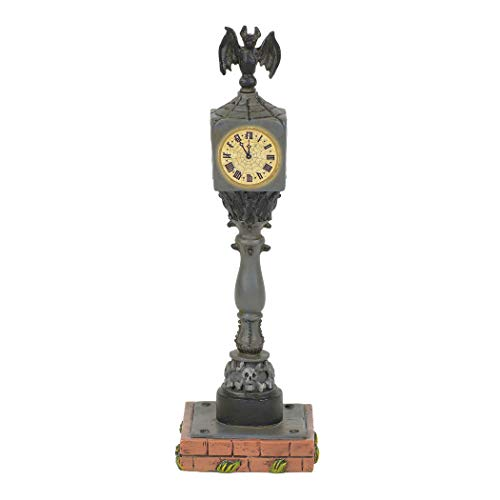 Department 56 Collections Lit Halloween Town Clock Figurine
