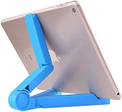 ブラケット三角形デスクトップ折りたたみブラケット携帯電話ユニバーサルタブレットブラケット (Color : White)