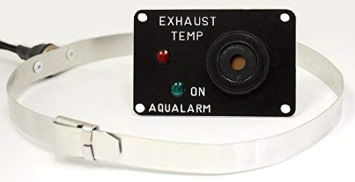 (Ultimate Products Boat Wet Exhaust Temperature Alarm, 12 volt )