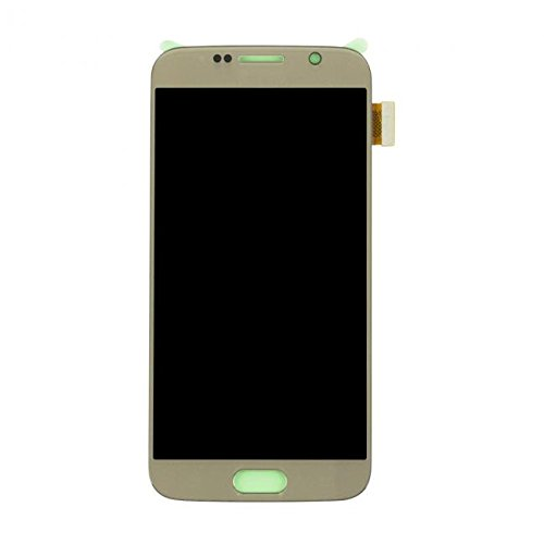 - LCD Display & Touch Screen Digitizer Assembly Replacement for Samsung Galaxy S6 (Gold)