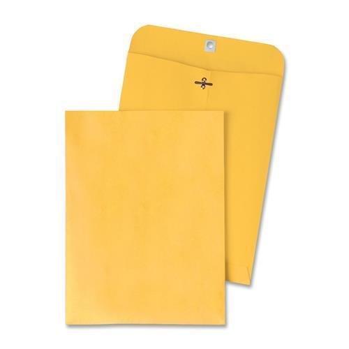 37905 Quality Park Clasp Envelope - Clasp - #105 (11.50'' x 14.50'') - 28 lb - Gummed - Kraft - 100/Box - Kraft by Quality Park