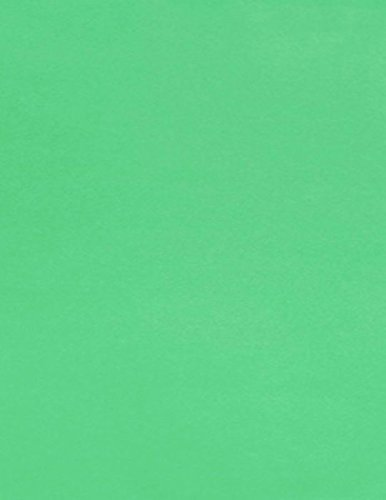 8 1/2 x 11 Paper - Bright Green (50 Qty.) | Perfect for Crafting, Invitations, Scrapbooking and so much more! | 81211-P-17-50 Envelopes.com
