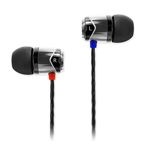 SoundMAGIC E10 Noise Isolating In-Ear Earphones (Gunmetal)