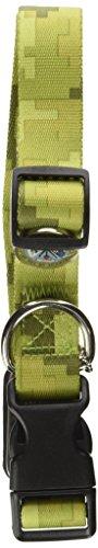America's Legacy Camo Collar, Green Army, 1-Inch By 16-26-Inch