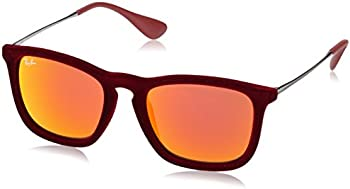 Ray-Ban Men's RB4187 Chris Velvet Sunglasses