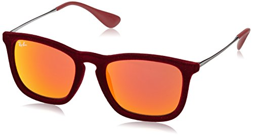 4187 RB Ray CHRIS Sonnenbrille Bordeaux Ban Flock Burdeos pqqtI71wx