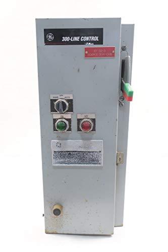 GE CR387C1046PFGTEV Size 1 Combination Motor Starter 27A 115-120V-AC 10HP ()