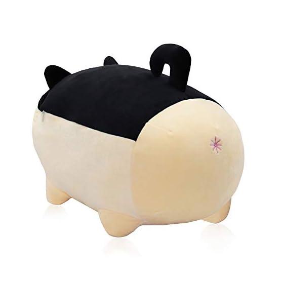 Shiba Inu Plush | Black Dog Plush Pillow | By Auspicious Beginnings 4