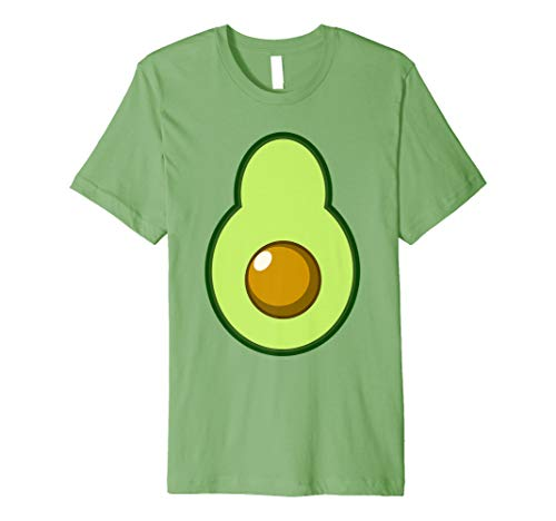 Avocado Costume Halloween Funny Idea DIY T-Shirt]()